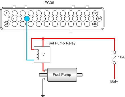 ConnectingFuelPump chapter 10 actuators and output drivers wiring diagram for fuel pump relay at webbmarketing.co